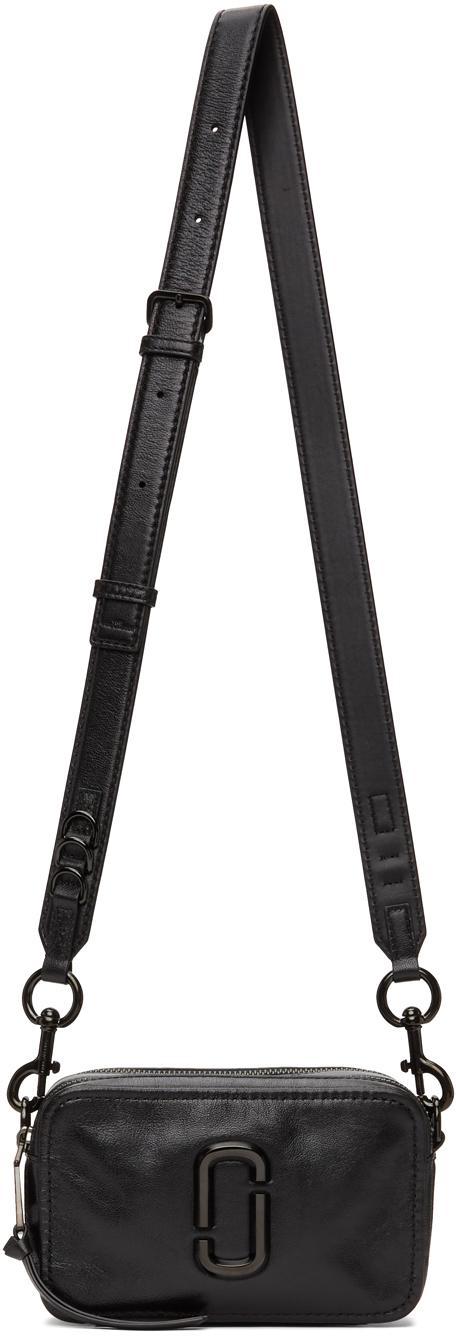 Black 'The Snapshot' DTM Shoulder Bag