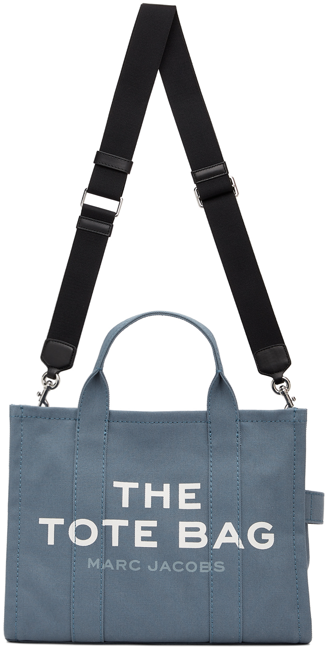 Blue 'The Small Traveler' Tote