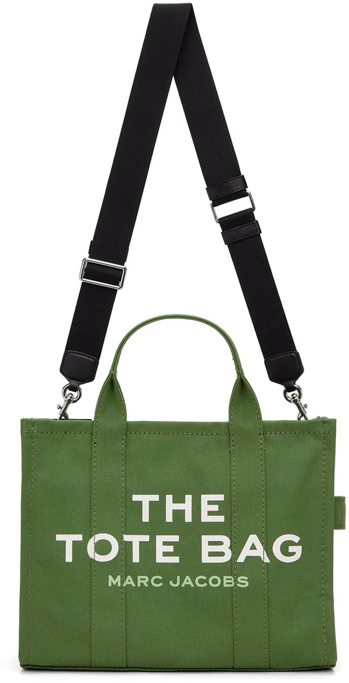 Green 'The Small Traveler' Tote