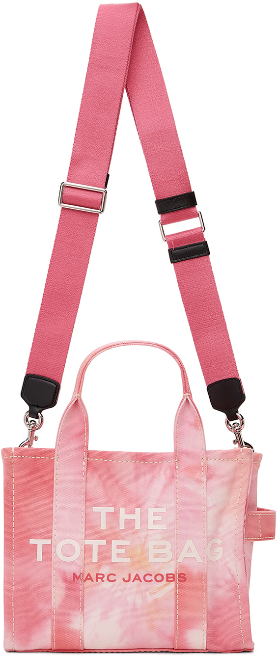 Pink 'The Tie-Dye Mini Traveler' Tote