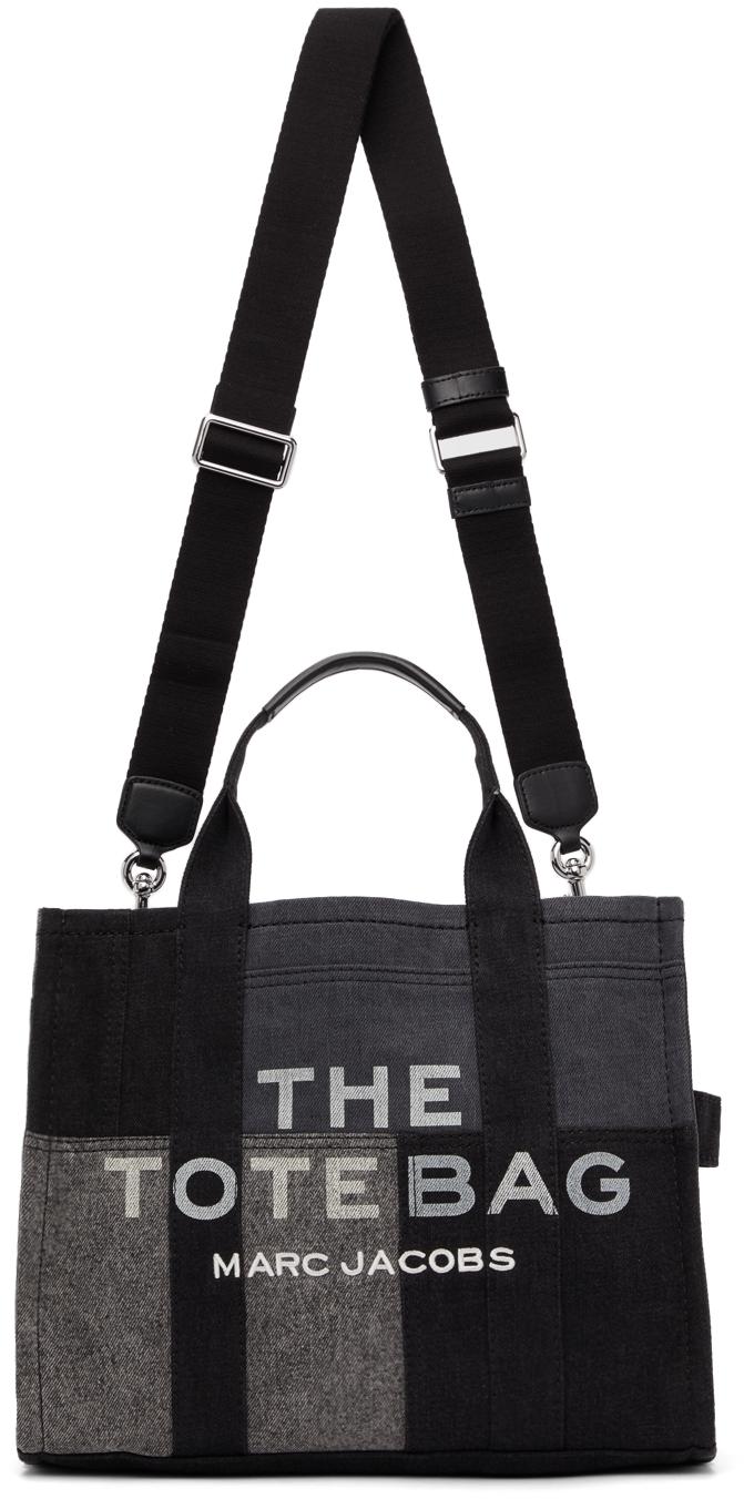 Black Small Denim 'The Tote Bag' Tote