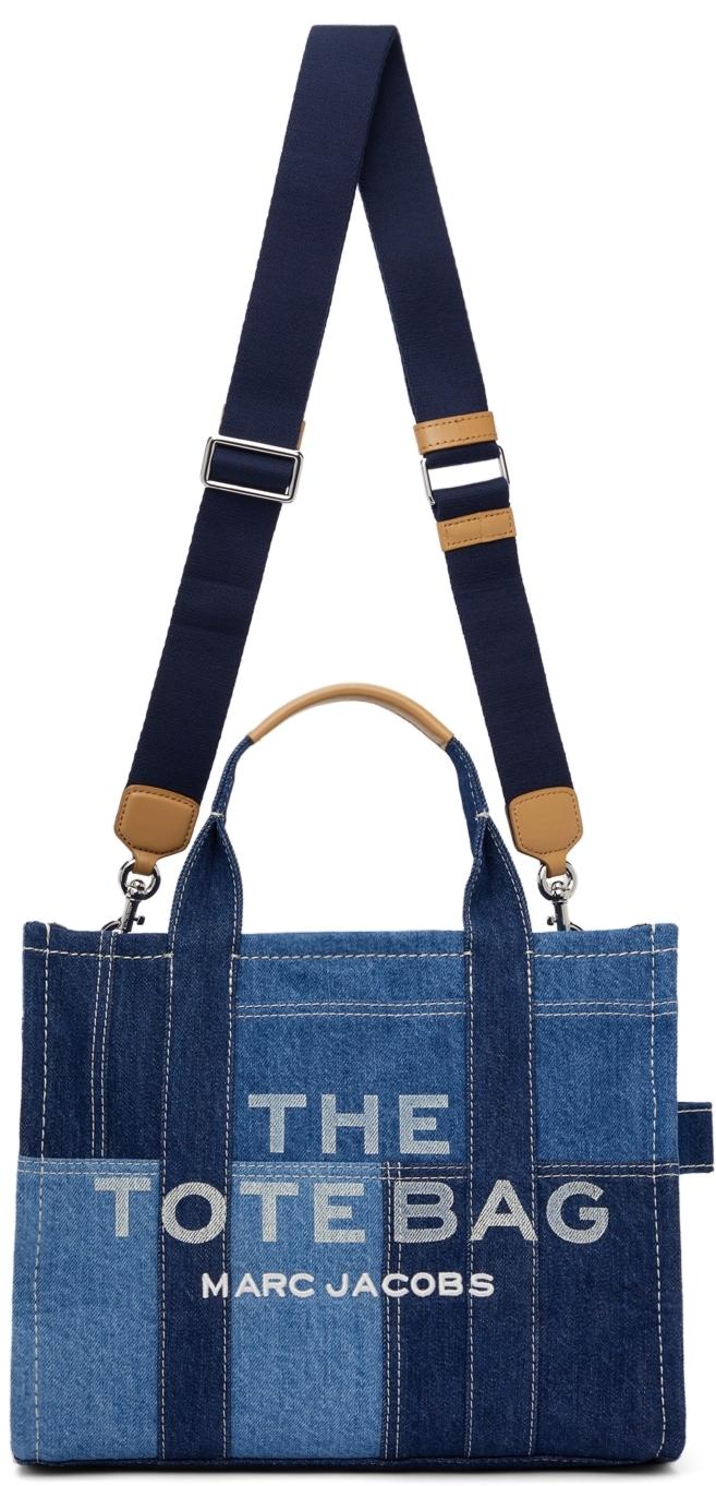 Blue Small Denim 'The Tote Bag' Tote