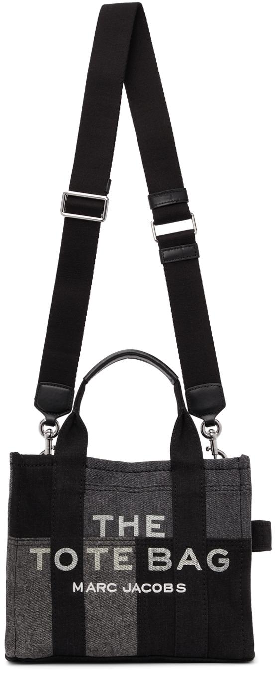 Black Mini Denim 'The Tote Bag' Tote