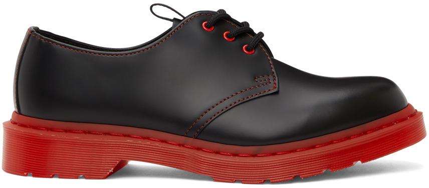 Black & Red Dr. Martens Edition 1461 Derbys