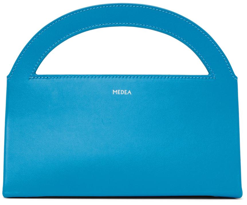Blue Europa Baguette Bag