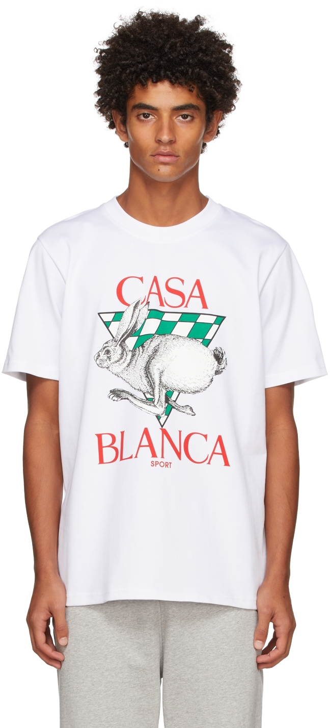 White Casa Sport T-Shirt