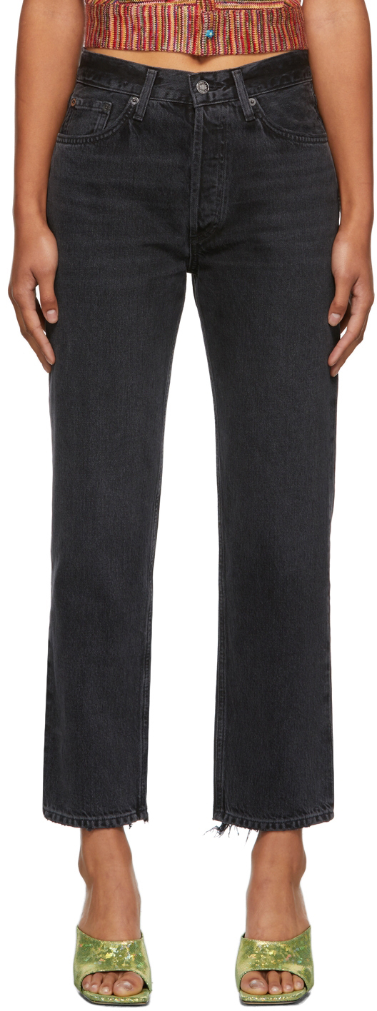 AGOLDE Lana Cropped Vintage Straight Jeans