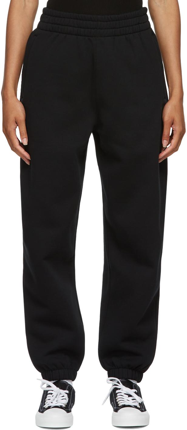 Black Terry Foundation Lounge Pants