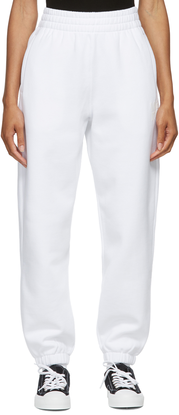 White Terry Foundation Lounge Pants