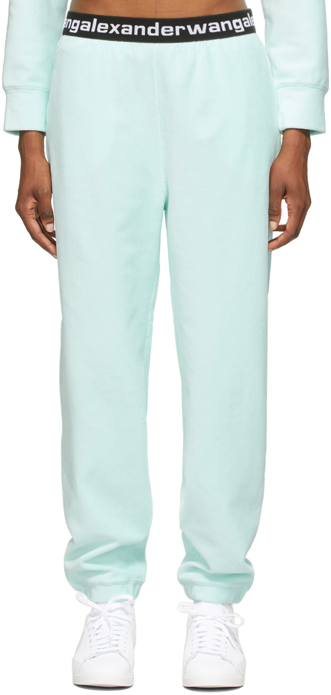 Blue Stretch Corduroy Lounge Pants