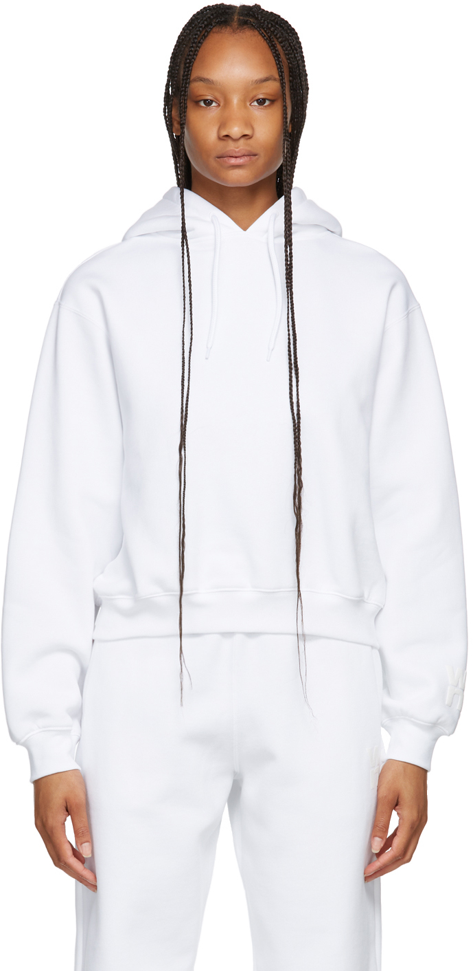 White Terry Foundation Hoodie