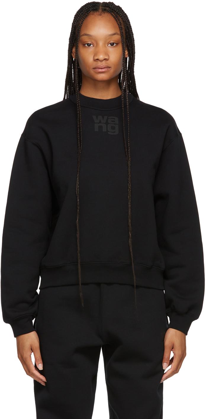 Black Terry Foundation Crewneck Sweatshirt