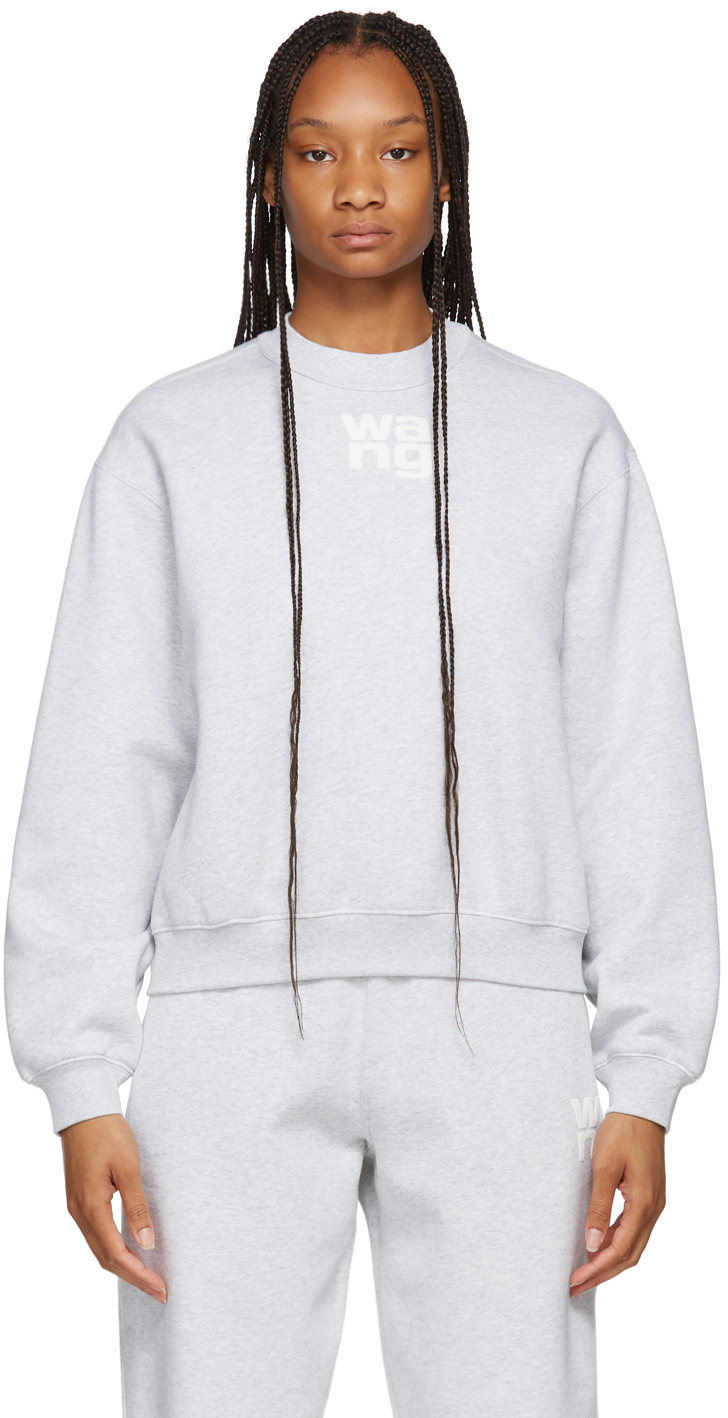 Grey Terry Foundation Crewneck Sweatshirt
