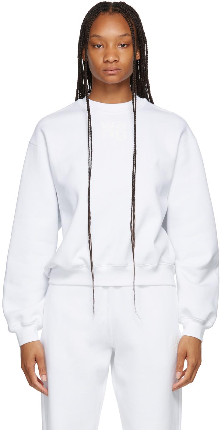 White Terry Foundation Crewneck Sweatshirt