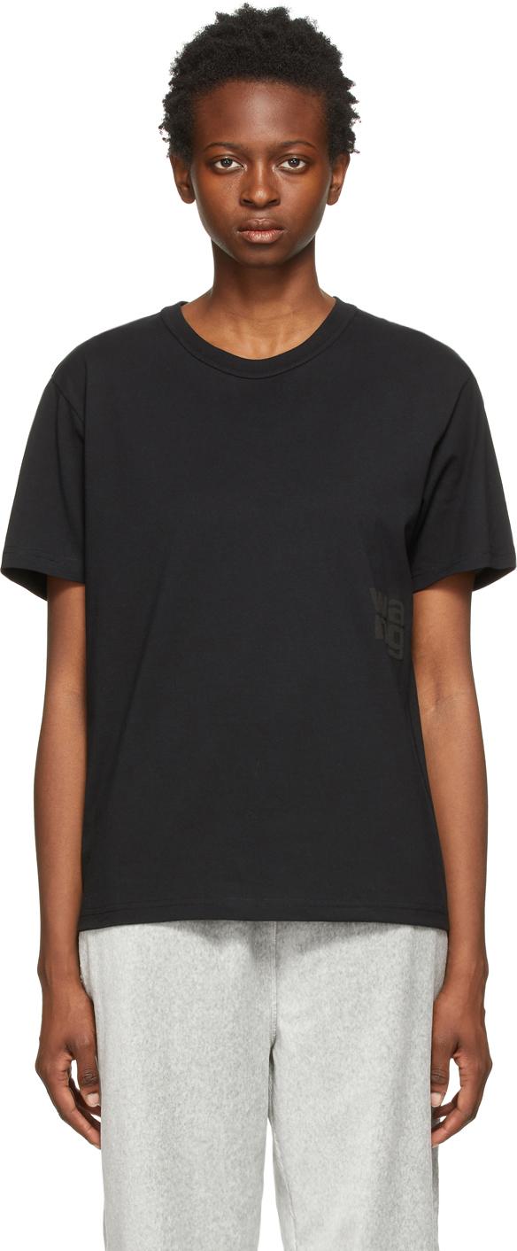 Black Puff Logo T-Shirt