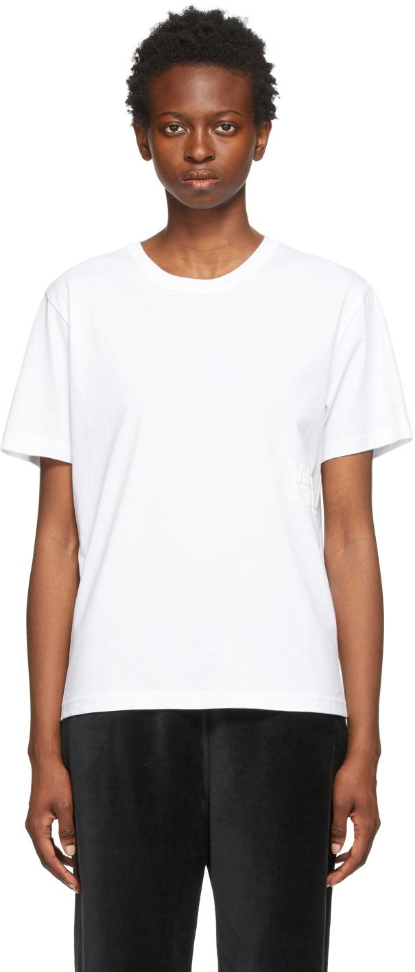White Puff Logo T-Shirt