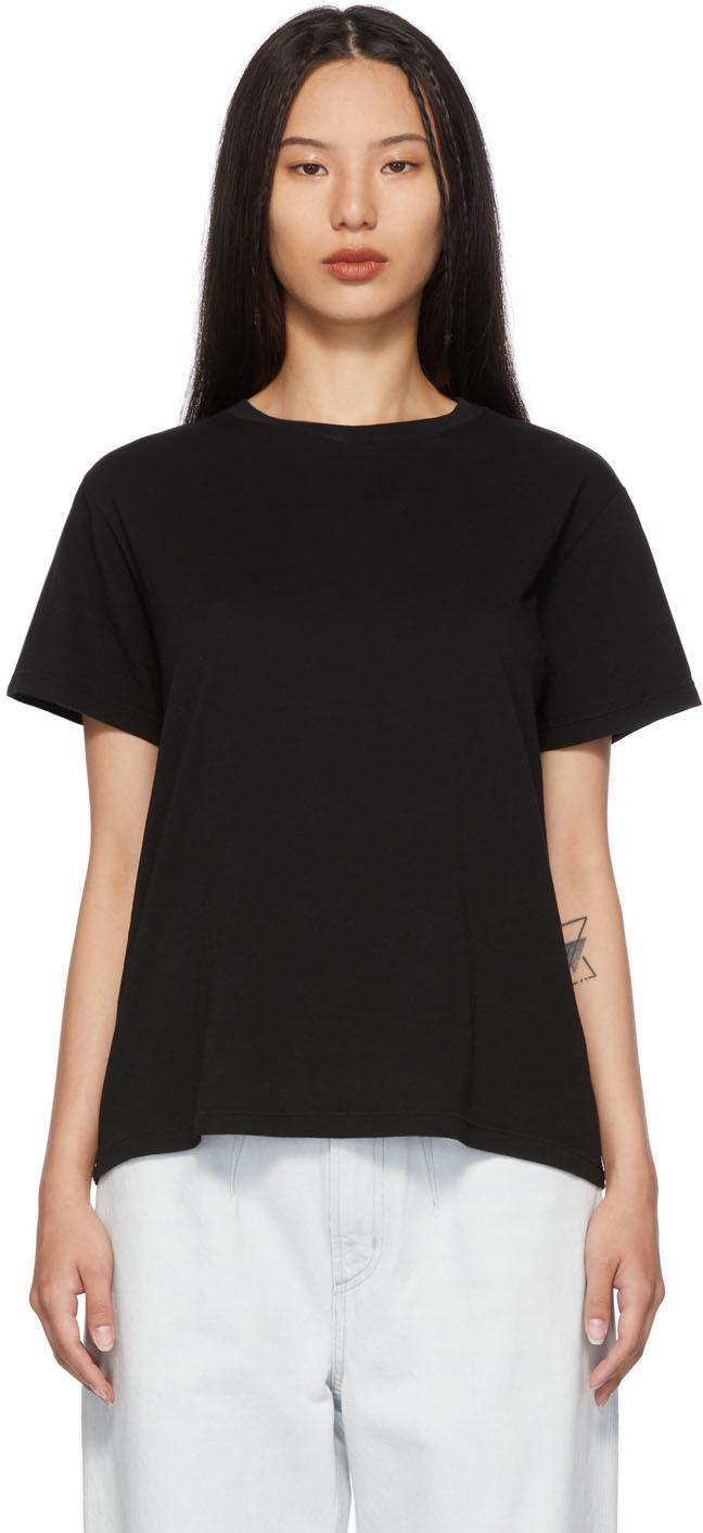 Black Crewneck Rena T-Shirt