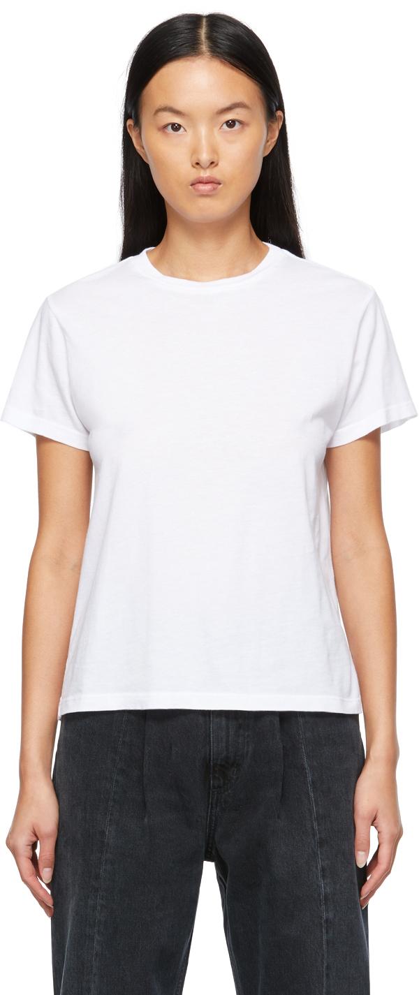 White Supima Cotton Rena T-Shirt