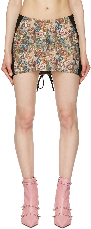 Multicolor Corset Skirt