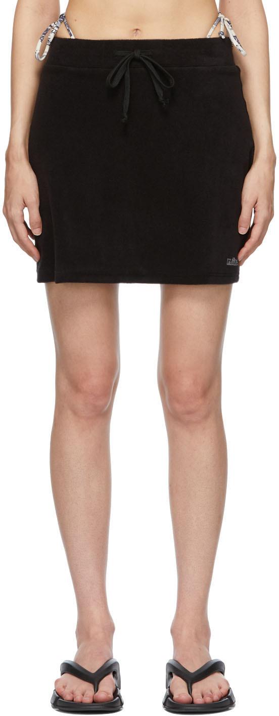 Black Tennis Miniskirt
