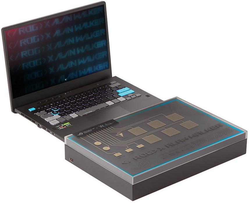 Black ROG x Alan Walker Edition Zephyrus G14 Laptop