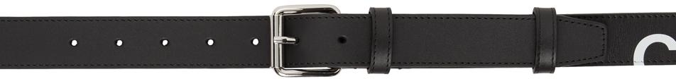 Black Huge Logo Belt
