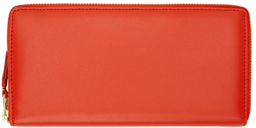 Orange Classic Continental Wallet