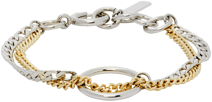 Gold & Silver Bicolor Jane Bracelet