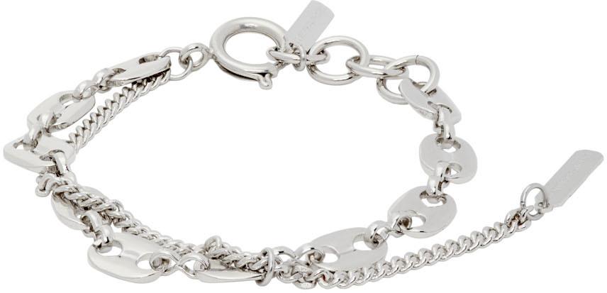 Silver Jerry Chain Bracelet