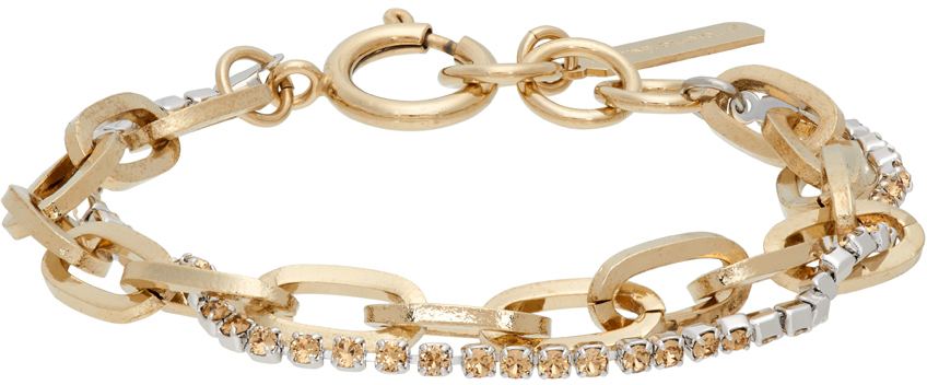 SSENSE Exclusive Gold & Yellow Kirsten Bracelet