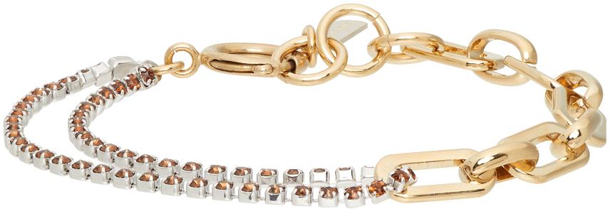 Silver & Gold Jean Bracelet