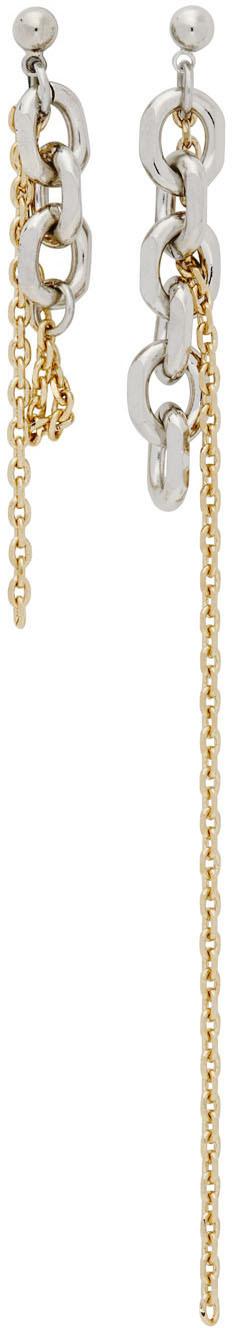 Silver & Gold Dana Earrings