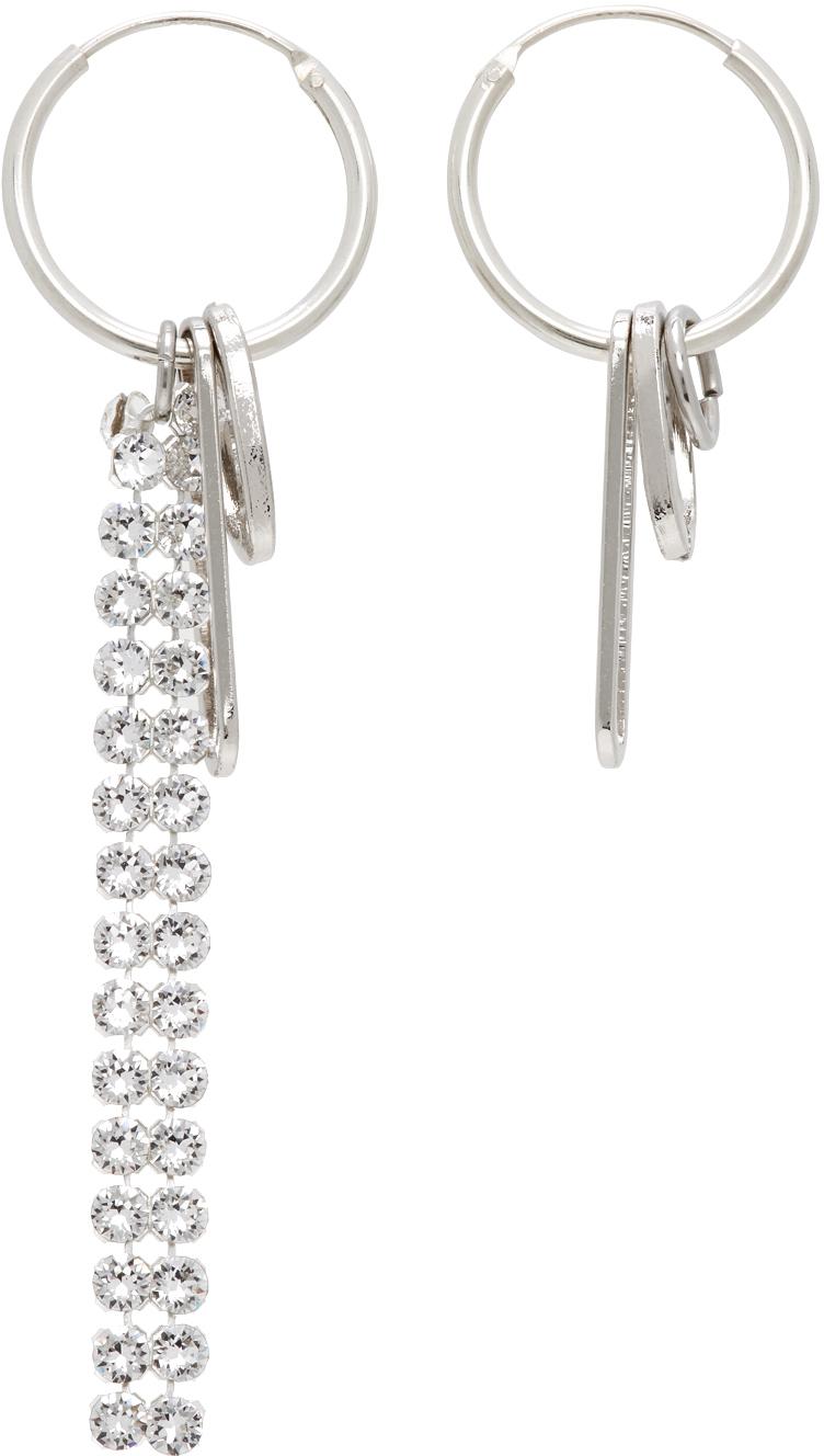 Silver Eddie Hoop Earrings