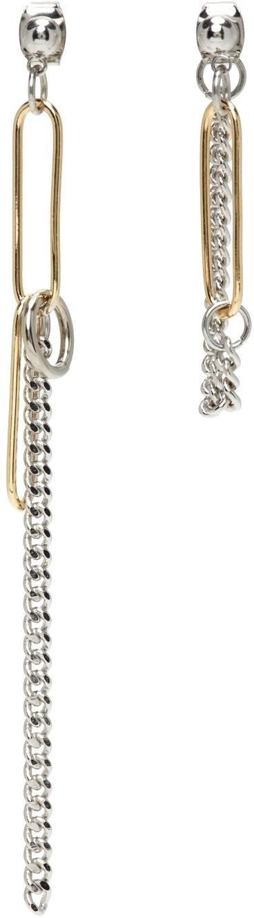 Silver & Gold Sid Earrings