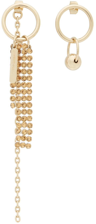 SSENSE Exclusive Gold & Yellow Jess Earrings