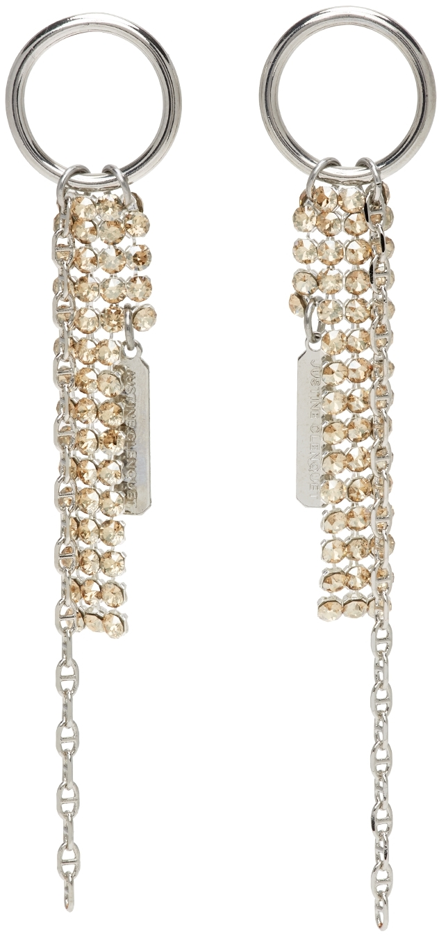 Silver Kay Earrings