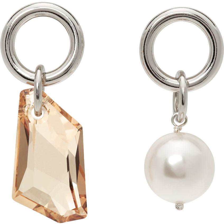 Silver Laura Earrings