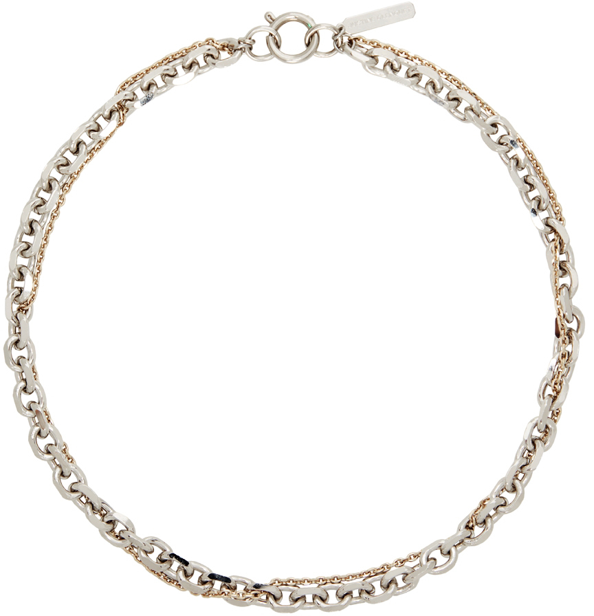 Silver & Gold Dana Necklace
