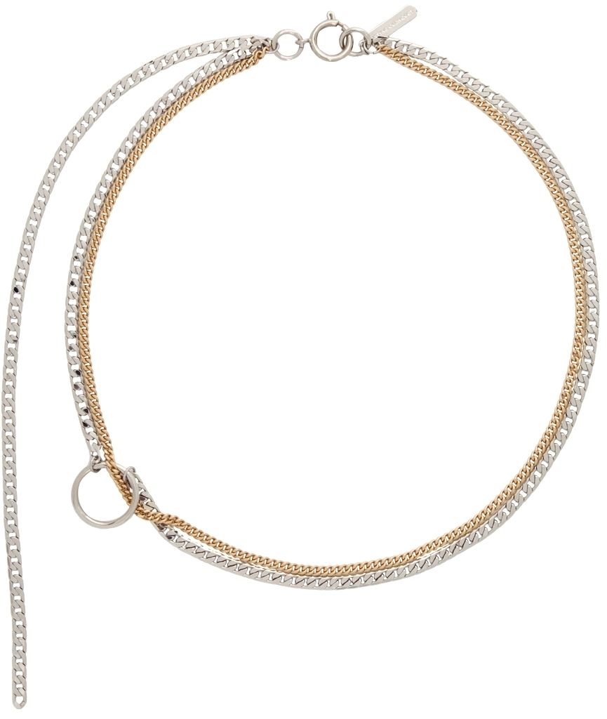 Silver & Gold Jane Necklace
