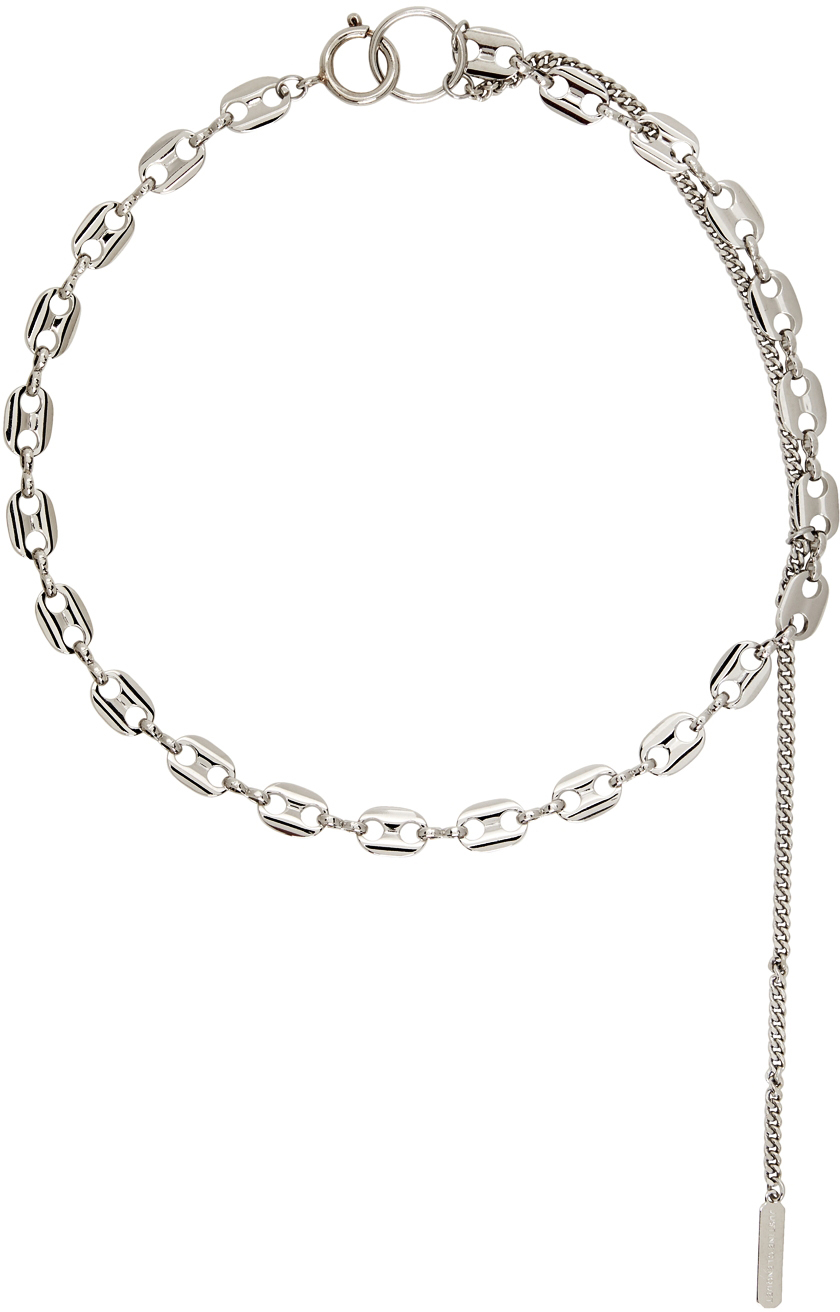 Silver Jerry Necklace