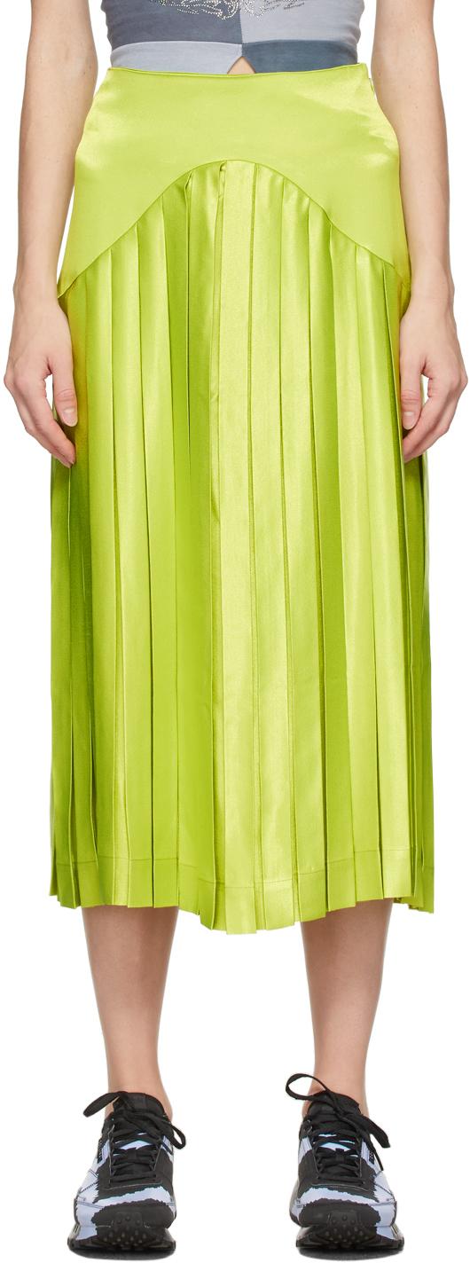 SSENSE Exclusive Green Mariposa Skirt