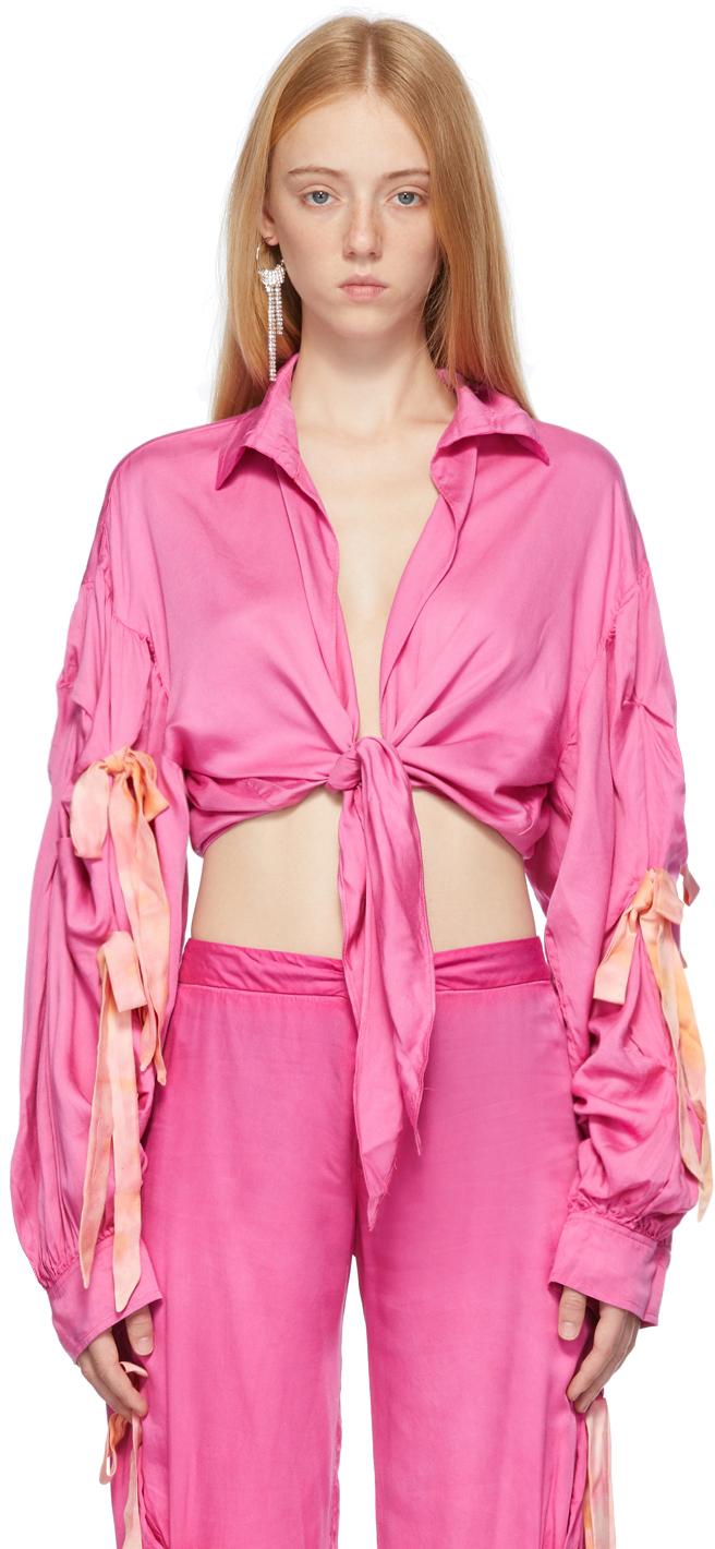 Pink Osho Blouse
