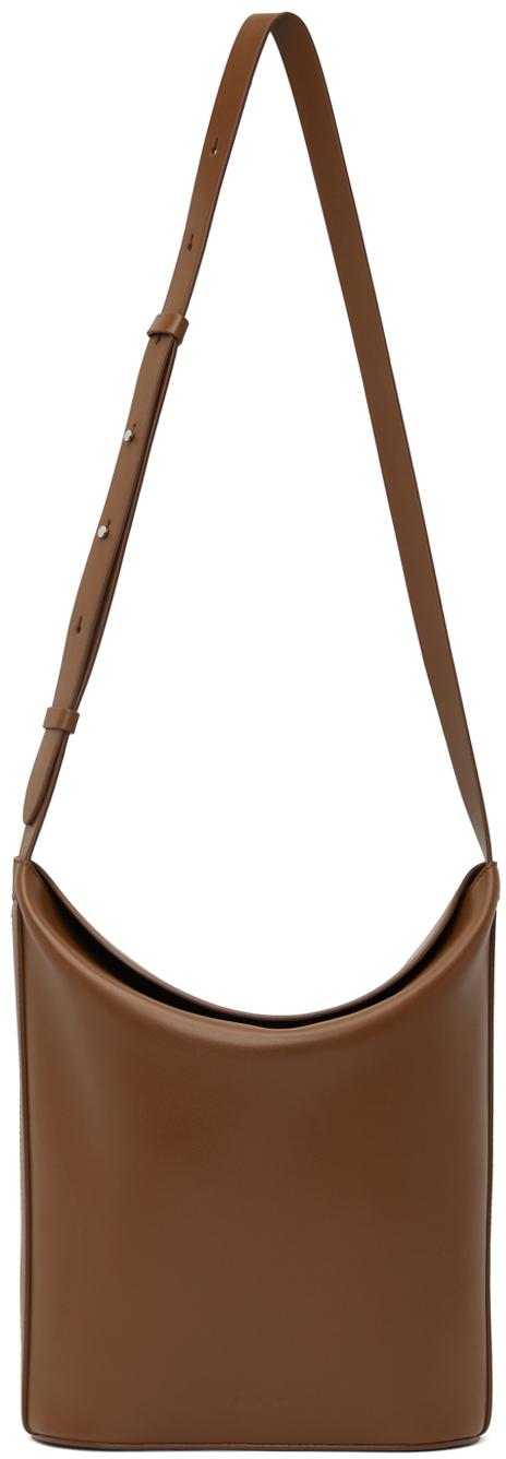 Brown Sway Bucket Bag