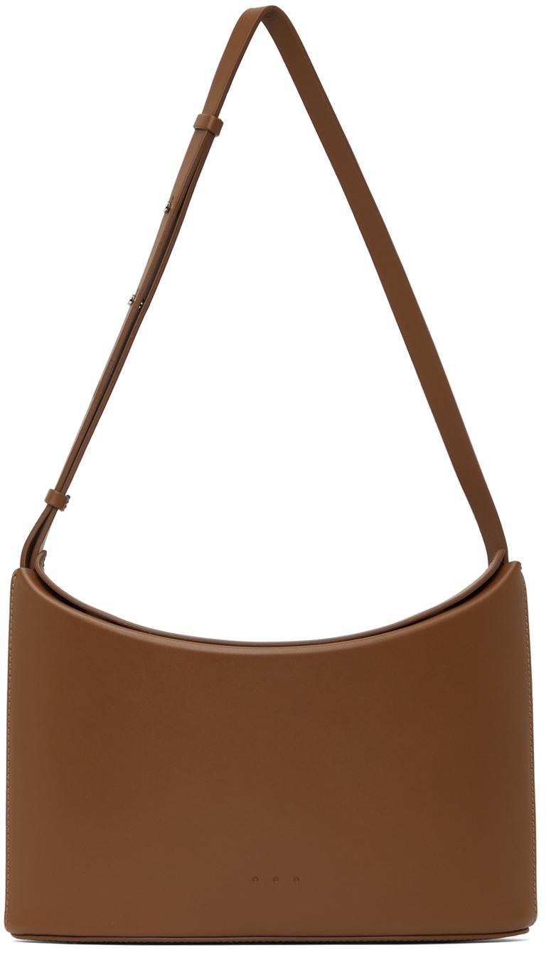 Brown Sway Crossbody Bag