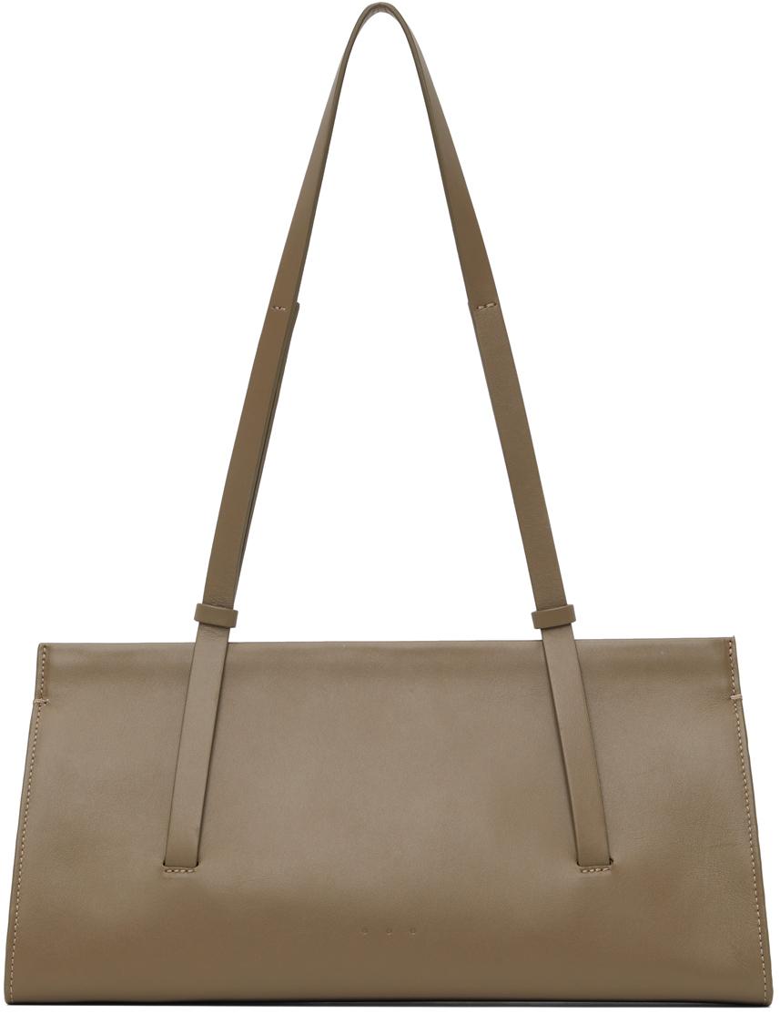 Taupe Baguette Bag