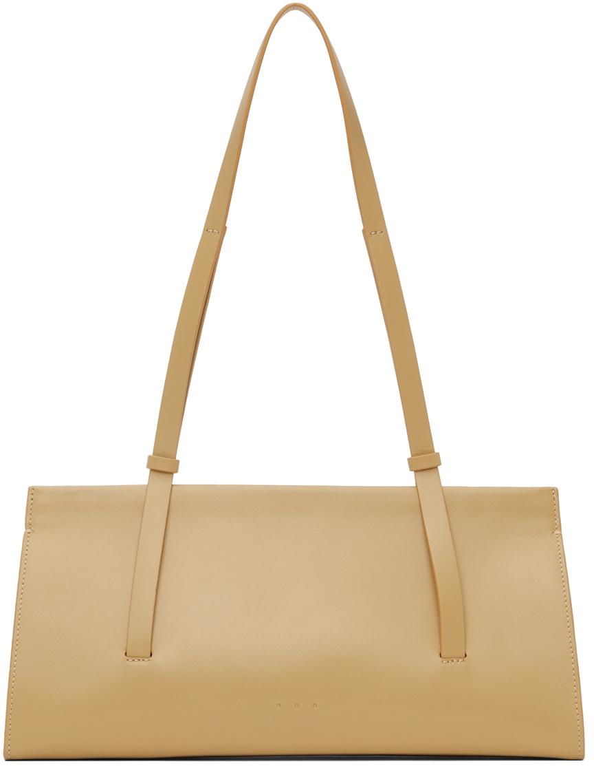 Yellow Baguette Bag