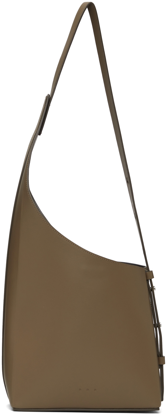 Taupe Demi Lune Bag