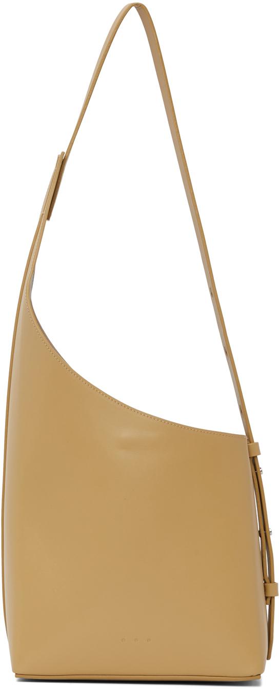 Yellow Demi Lune Bag