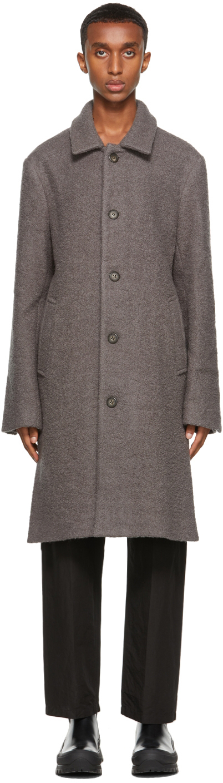 Grey Jordan Car Coat