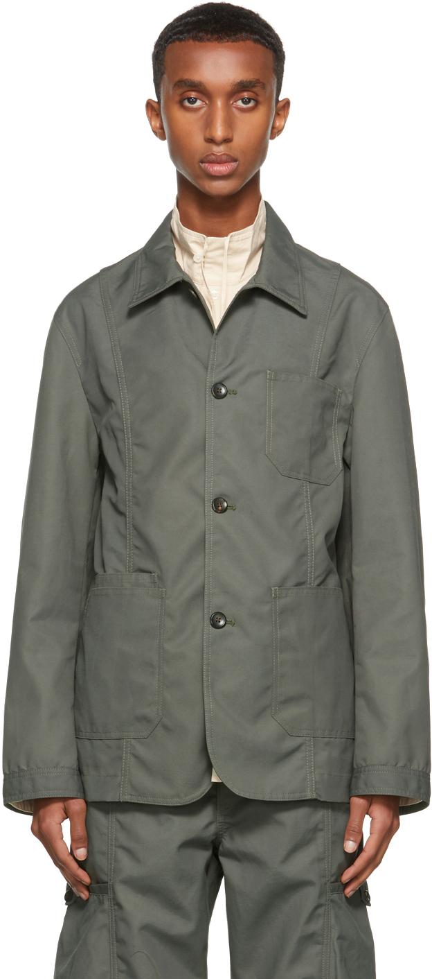 Khaki Canvas Jackson Jacket